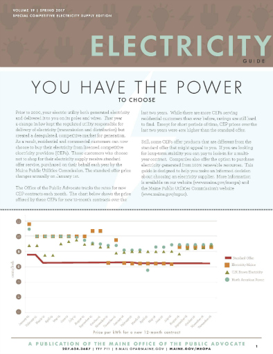 electricity guide