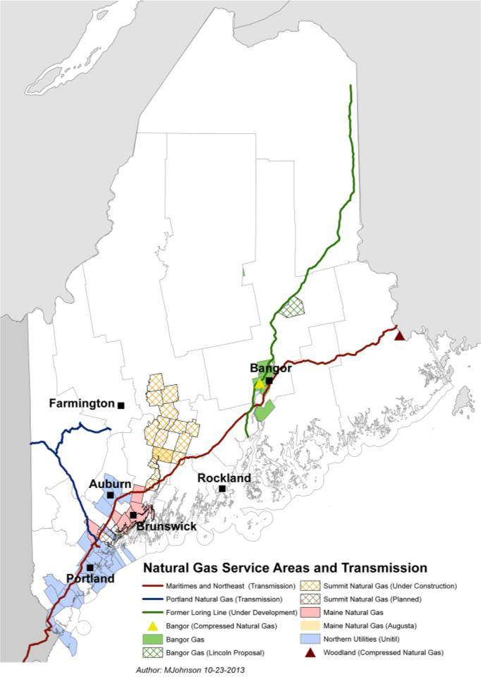 Natural Gas Service | Maine Office of Public Advocate