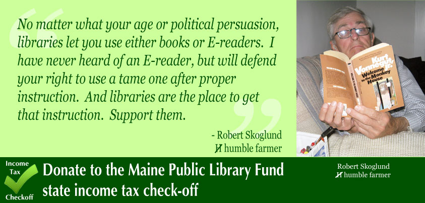Maine State Library Home