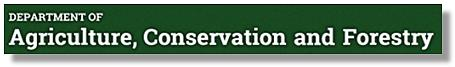 Agriculture Conservation and Forestry Title Logo