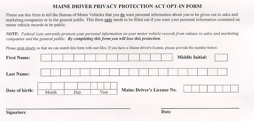 State Of Maine Bureau Motor Vehicles Phone Number