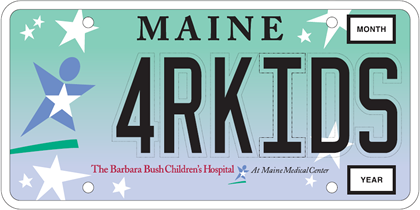Barbara Bush Children Hospital Plate