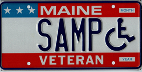 Disable Veteran Plate