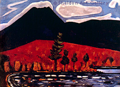 Image of a Marsden Hartley painting