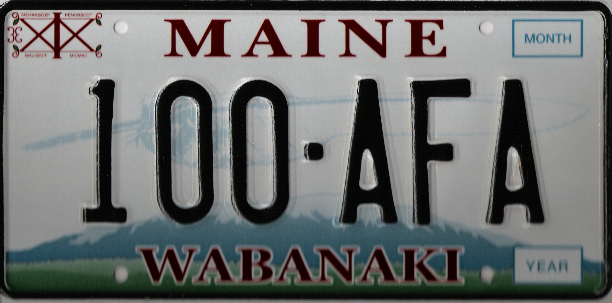 Image of the Wabanaki plate