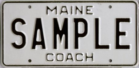 Image of the Coach plate