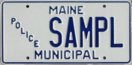 Image of the Municipal Police plate