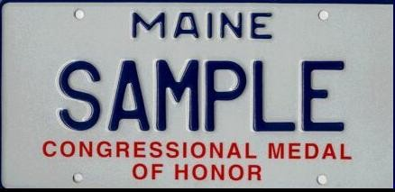 Image of the Congressional Medal of Honor Plate
