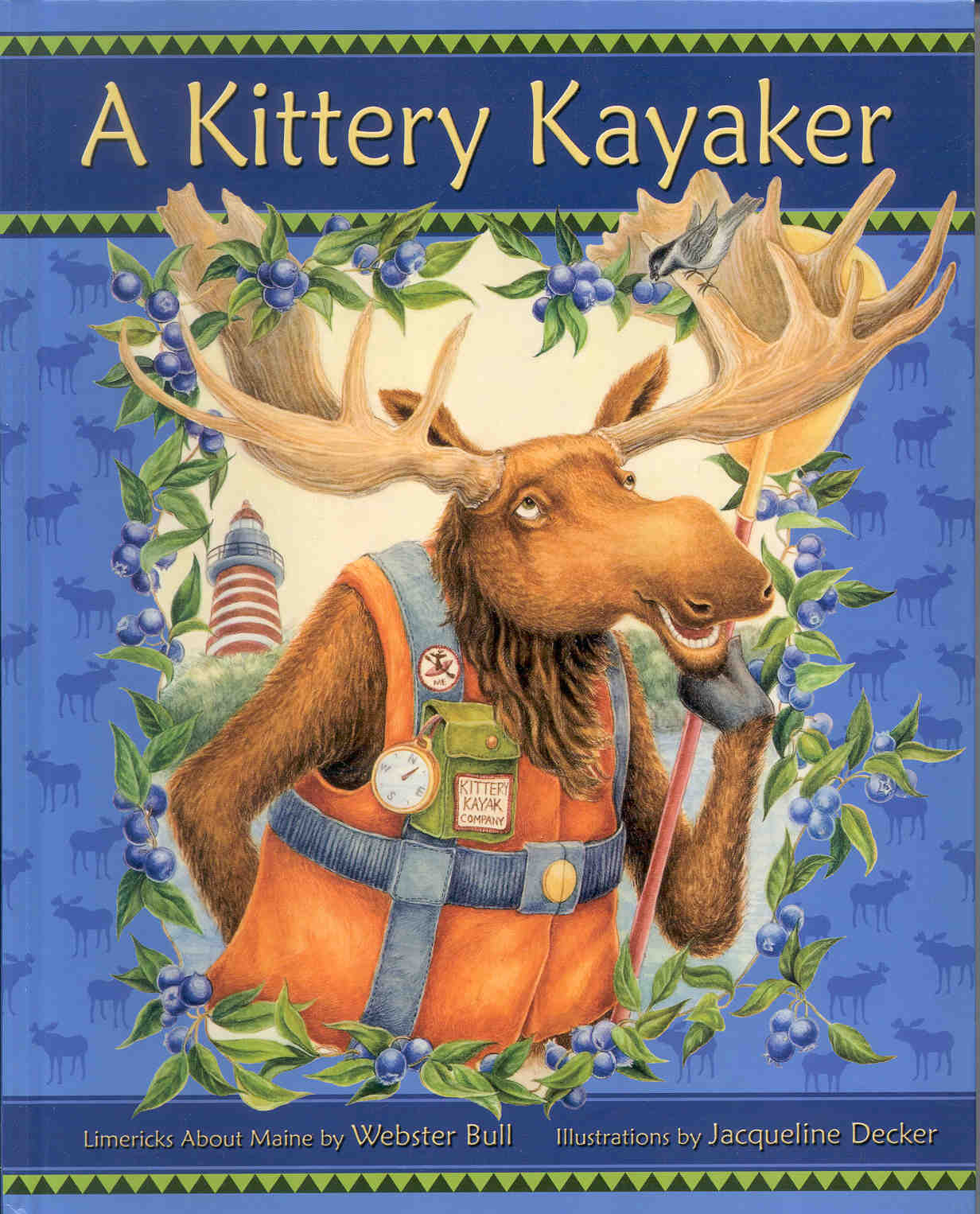 Image of the book cover A Kittery Kayaker