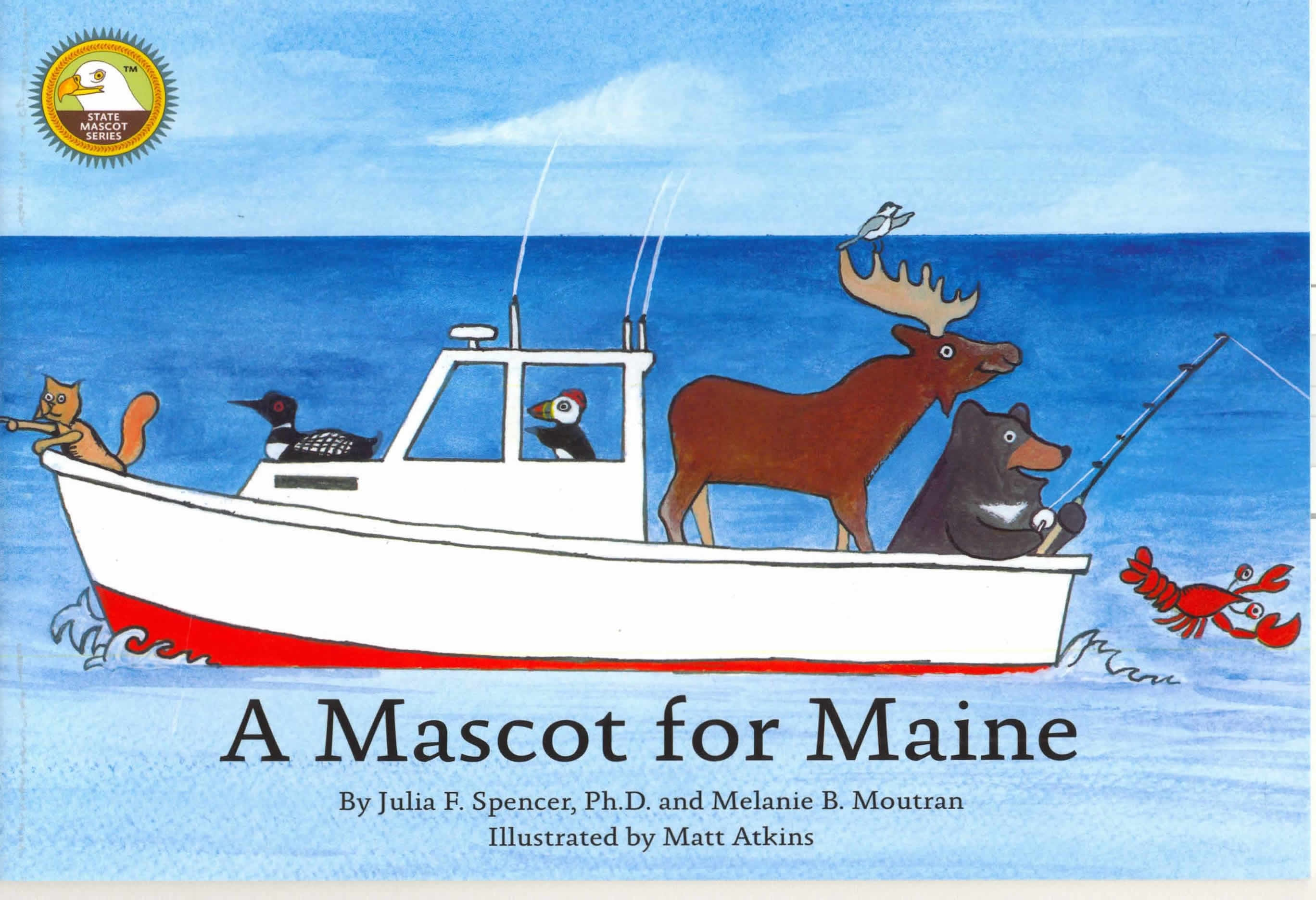Image of the book cover A Mascot for Maine