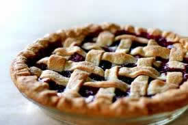 Image of a blueberry pie
