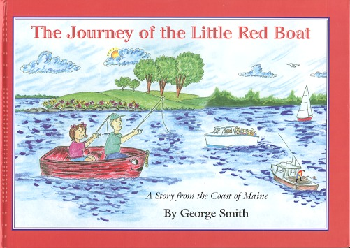 Image of the book cover The Jouirney of the Little Red Boat
