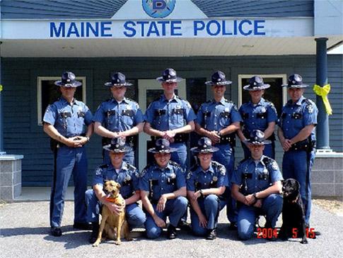 Maine State Police - Semper Aequus