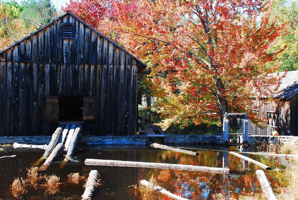Logging Barn-Leonard's Mills