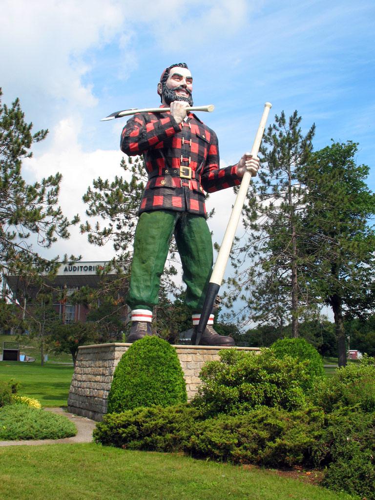 Paul Bunyon Statue - Bangor
