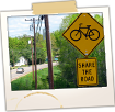 Share the Road Sign - Rte 32