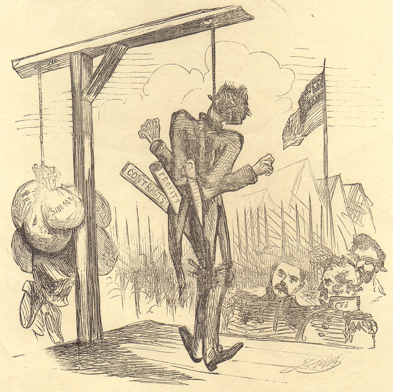 Harper's Weekly cartoon