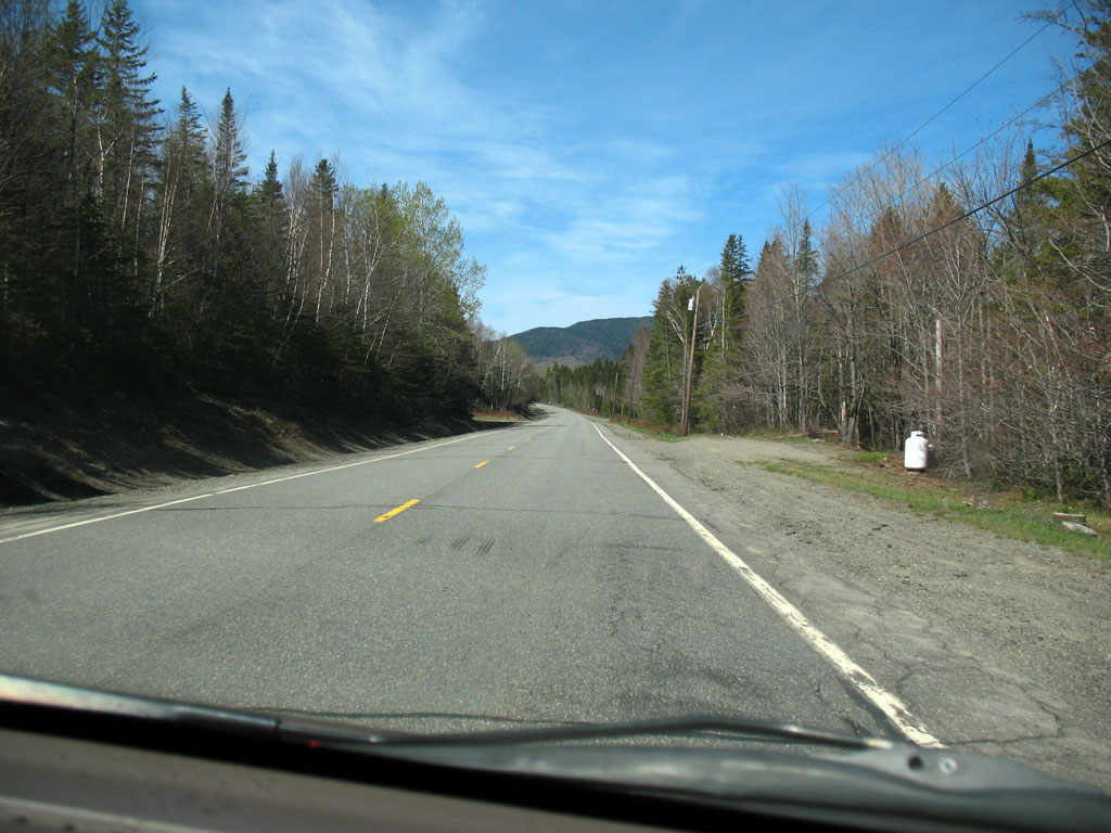 ME 4 South of Rangeley