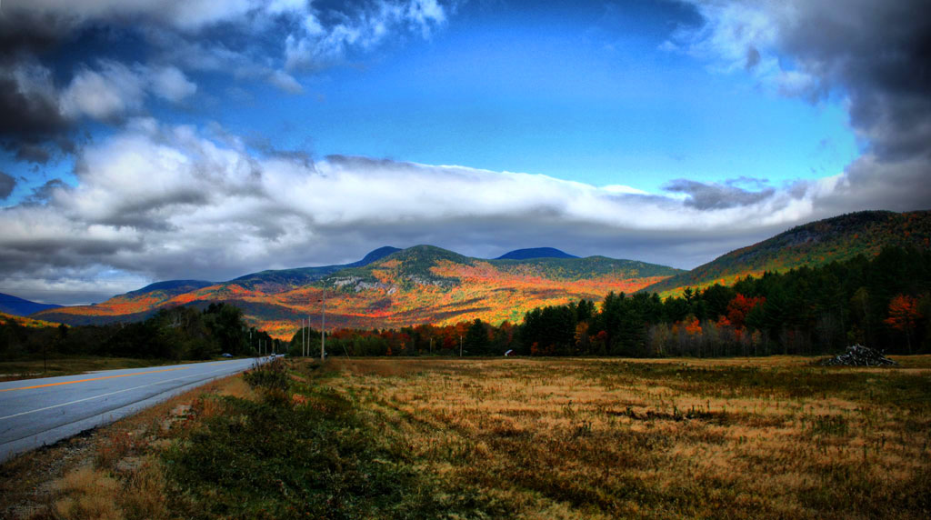 Route 26 Towards Grafton Notch