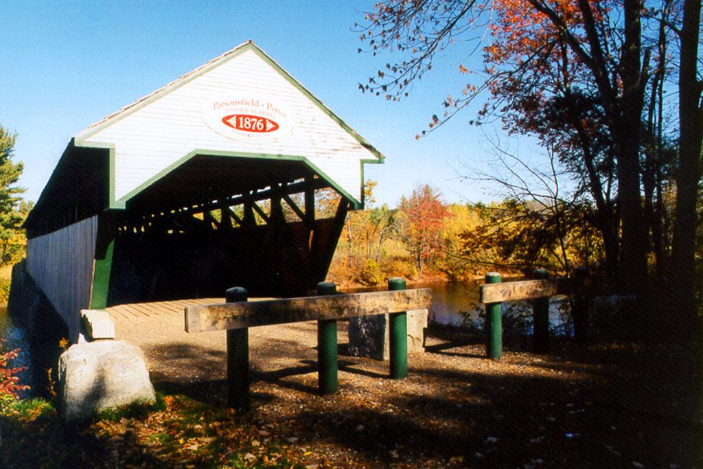 Porter-Parsonfield Historic Covered Bridge