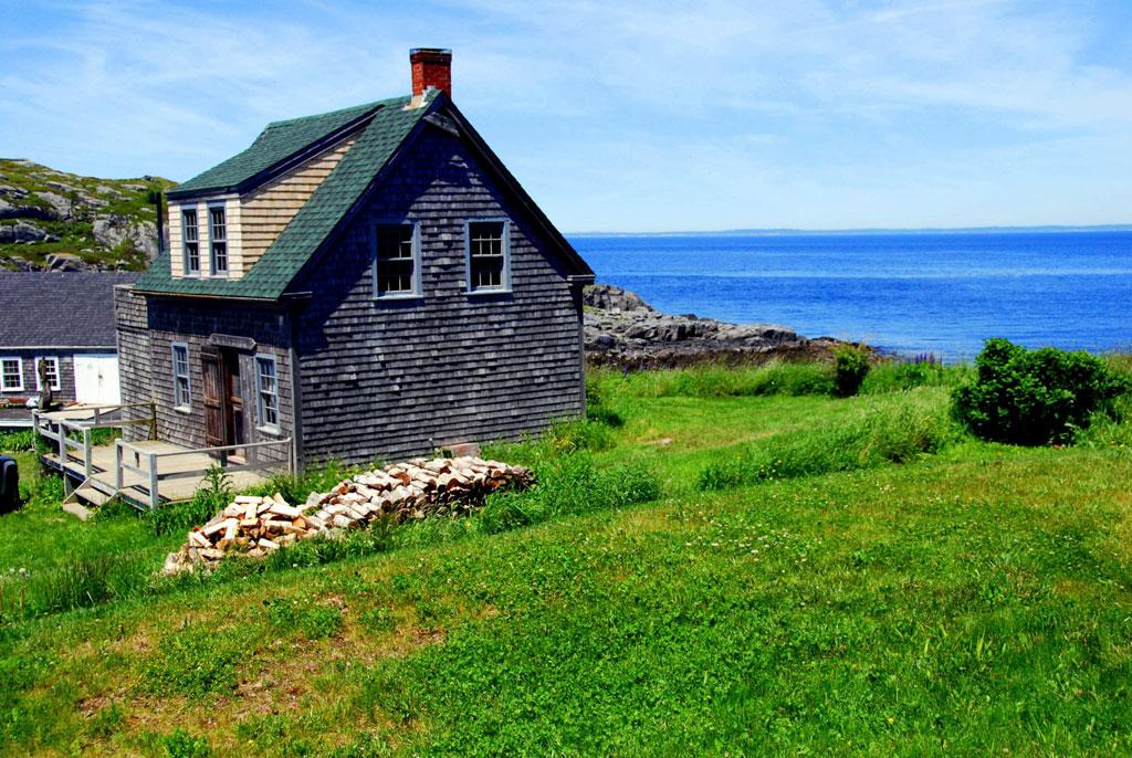 Rustic Home on Monhegan Island