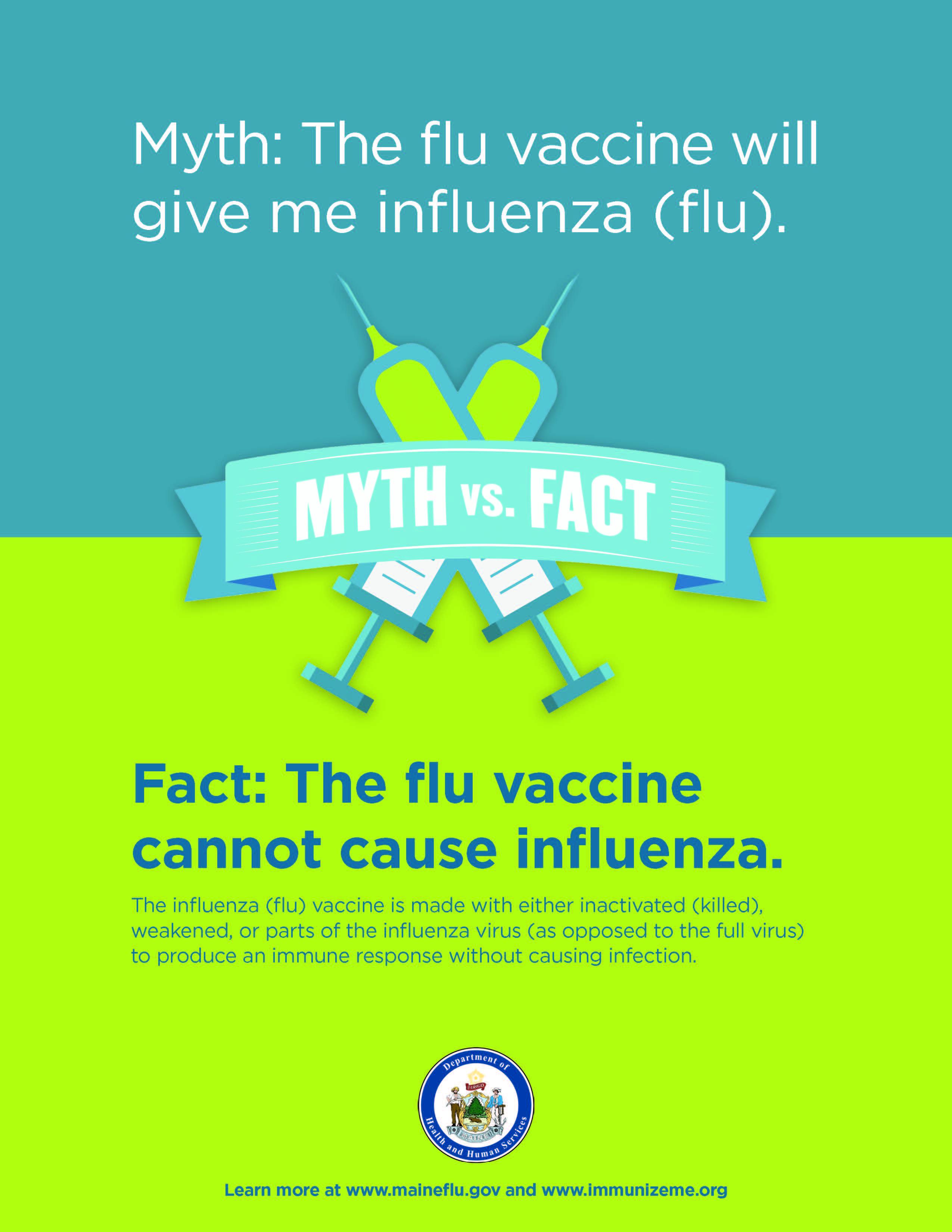 Flu Myth Poster #1