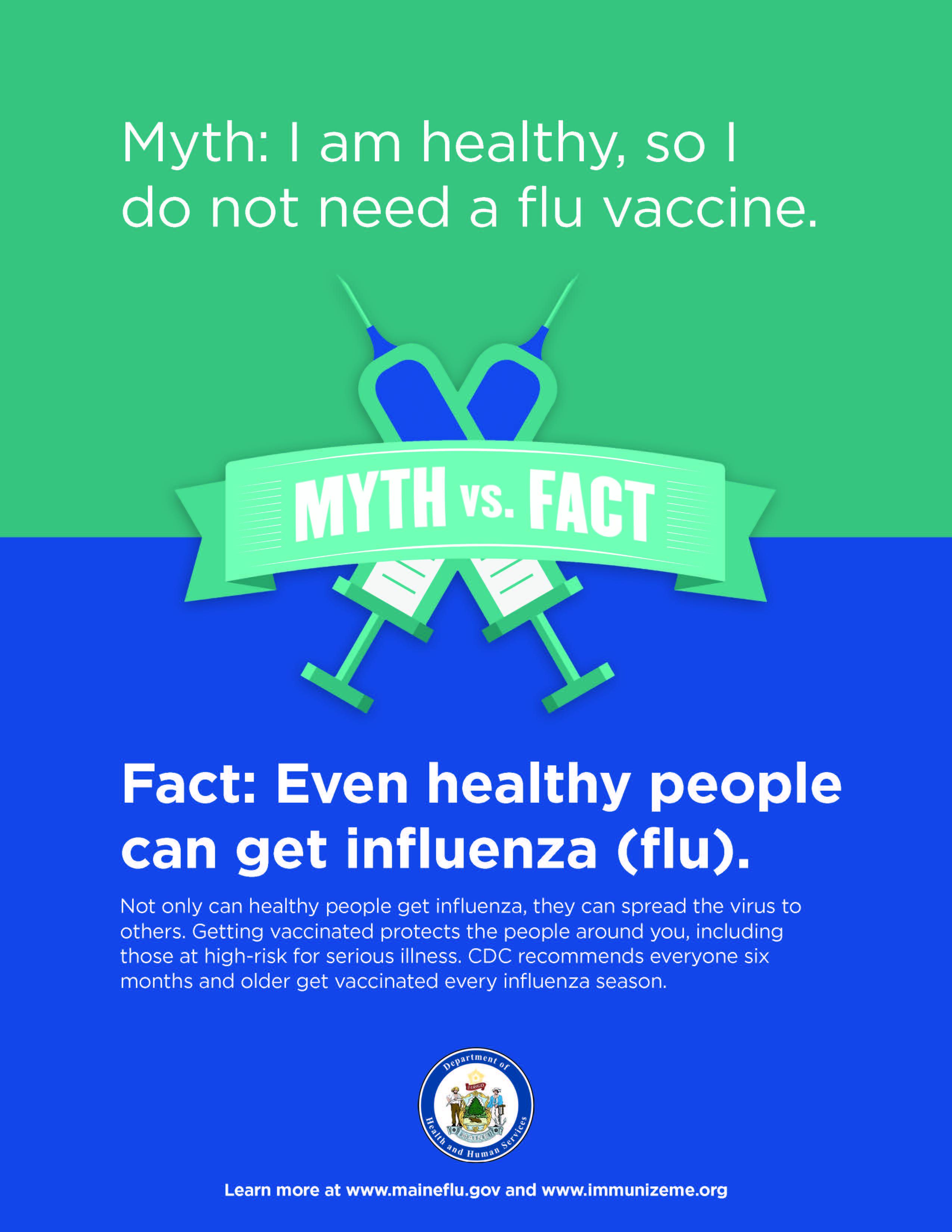 Flu Myth Poster #3