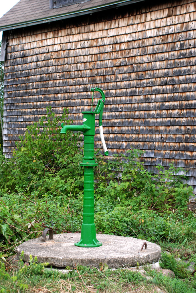 Old Hand Water Pump - Back Troy Road