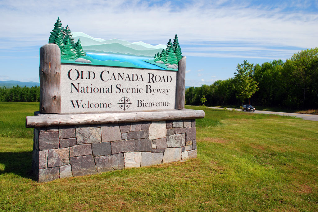 Old Canada Road Byway Sign