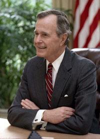 President George H. W.Bush