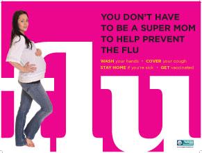 Flu Pink (Pregnancy)