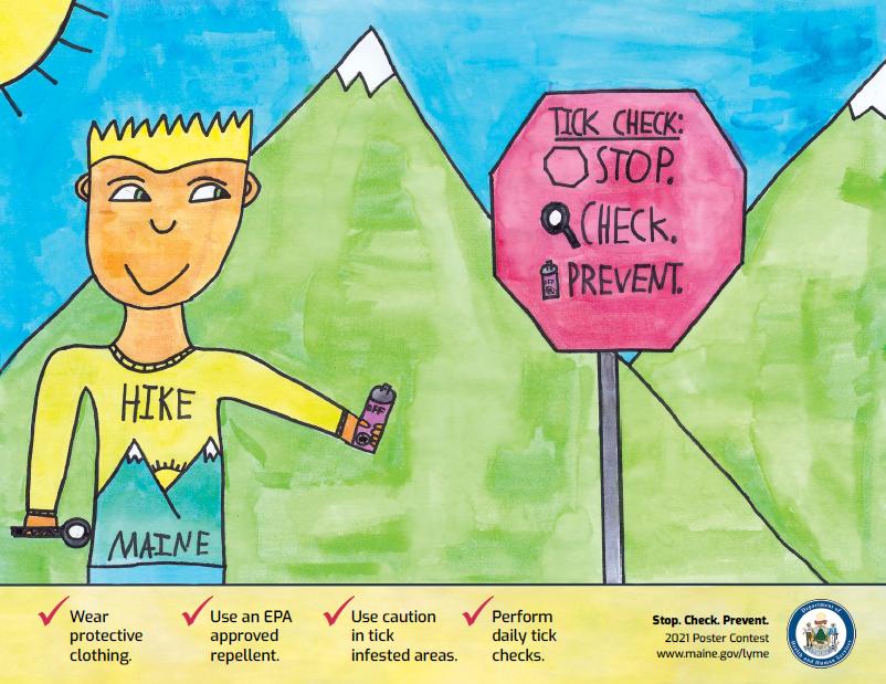 2021 Lyme Disease Awareness Poster