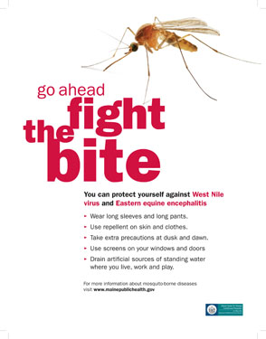 Go ahead fight the bite poster