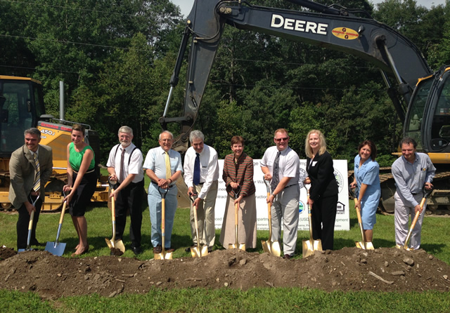 Groundbreaking for New Gloucester water system