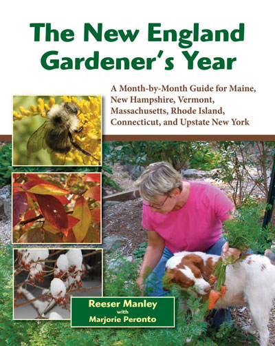 Book cover of The New England Gardener's Year