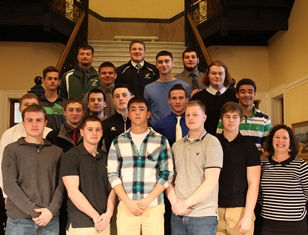 Rep. Dunphy and boy football team