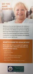 Diabetes Rack Card