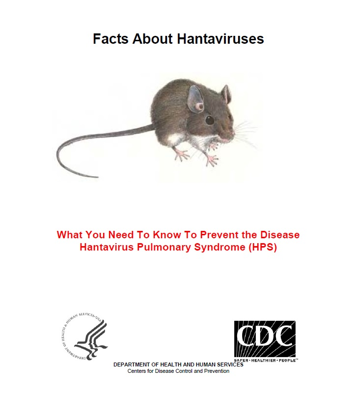 Facts About Hantaviruses Brochure