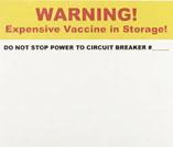 """Warning!"" circuit breaker stickers"