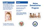 The Maine Immunization Program Brochure