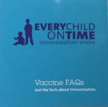 Every Child on Time - pocket sized booklet