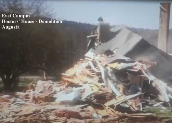 Doctors' House Demolition