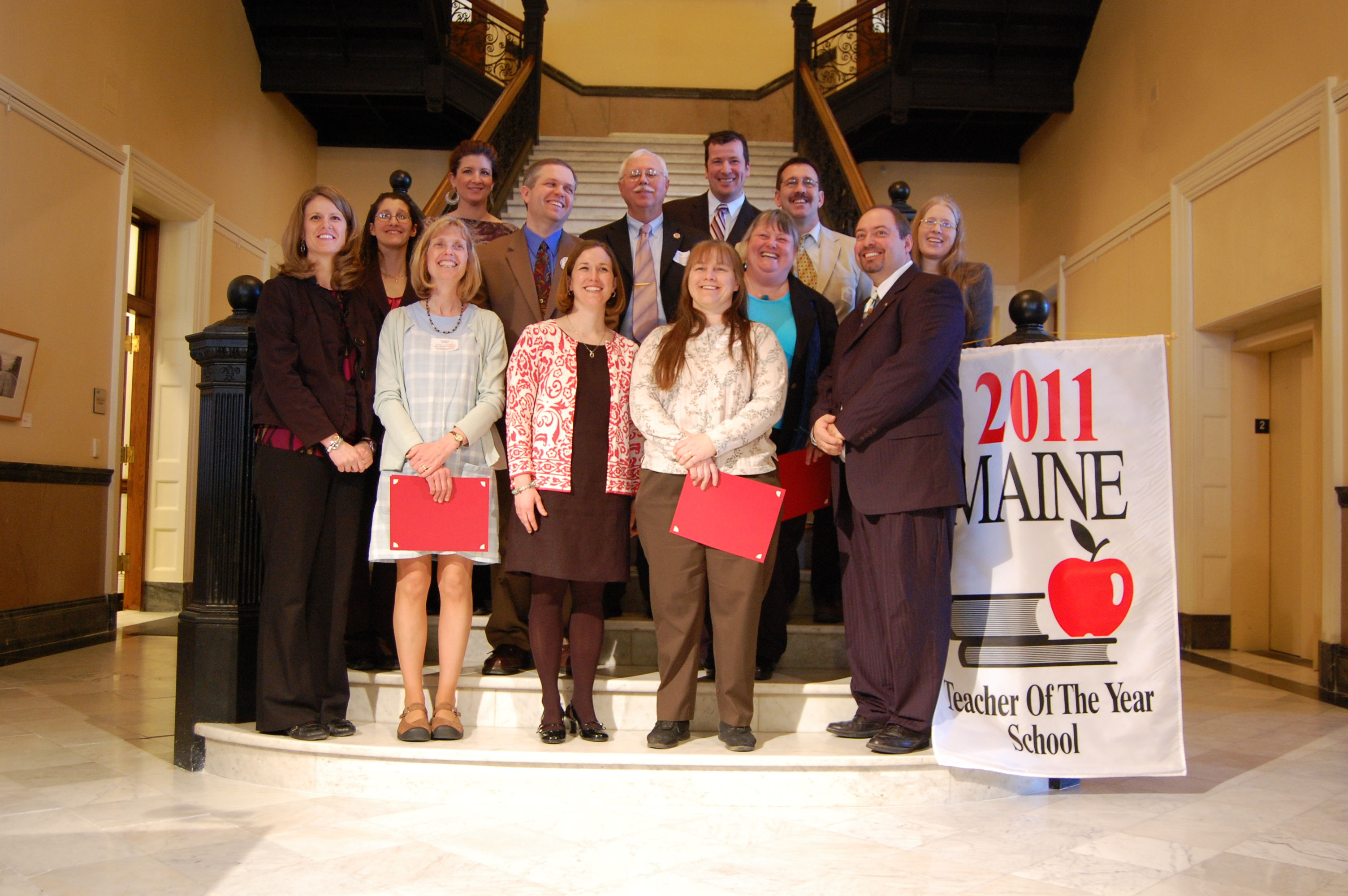 2011 Maine Teacher of the Year nominees