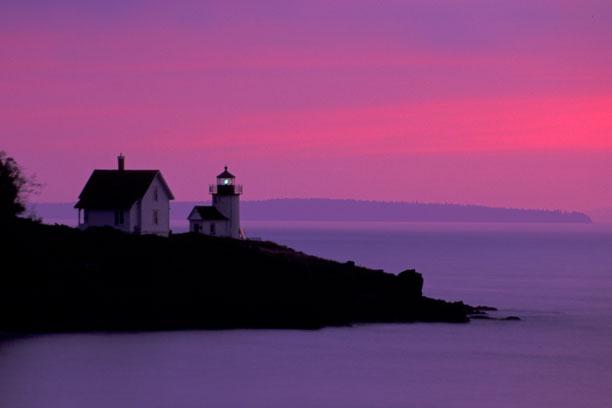 Curtis Island at Dawn