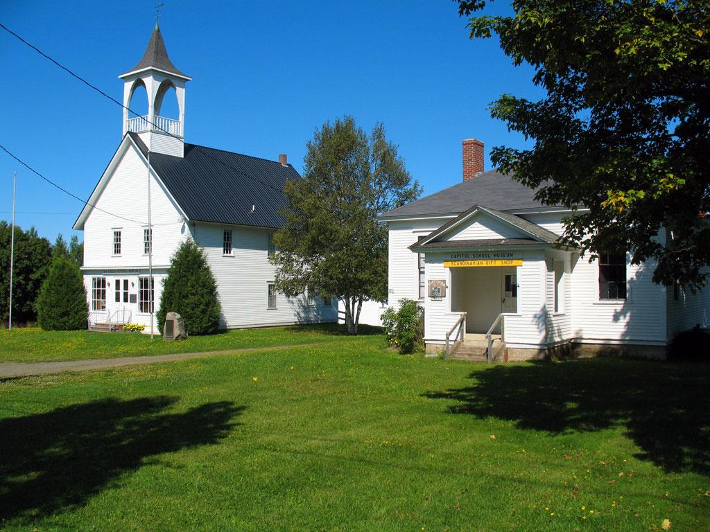 Capitol School Museum - New Sweden