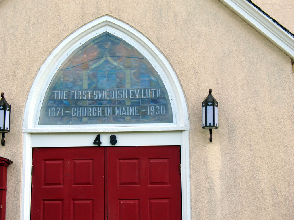 The First Swedish EV Luth. Church in Maine