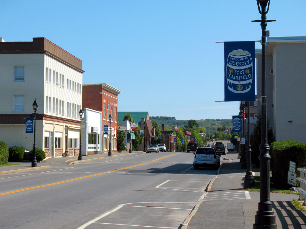 Downtown Fort Fairfield