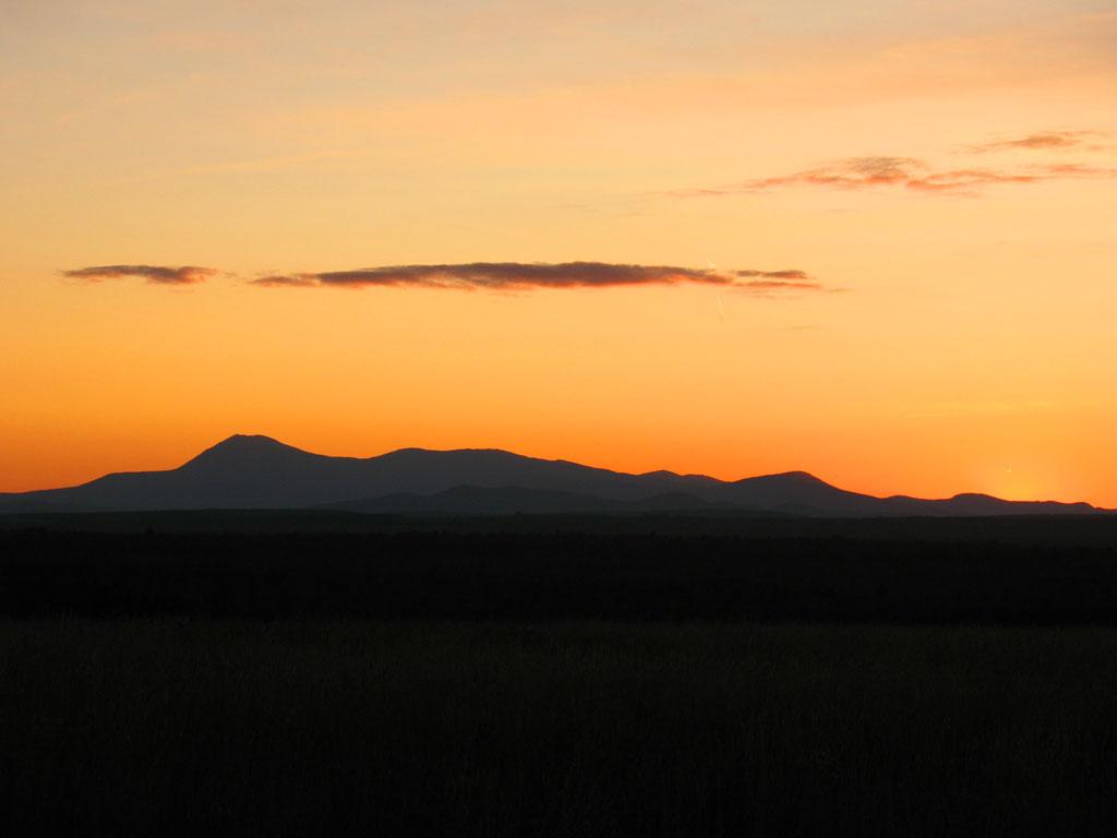 Katahdin at Sunset