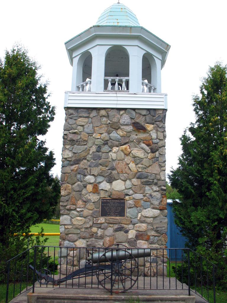 Island Falls Historical Tower