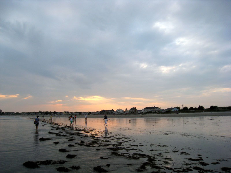 Kennebunk Beach at Sunset